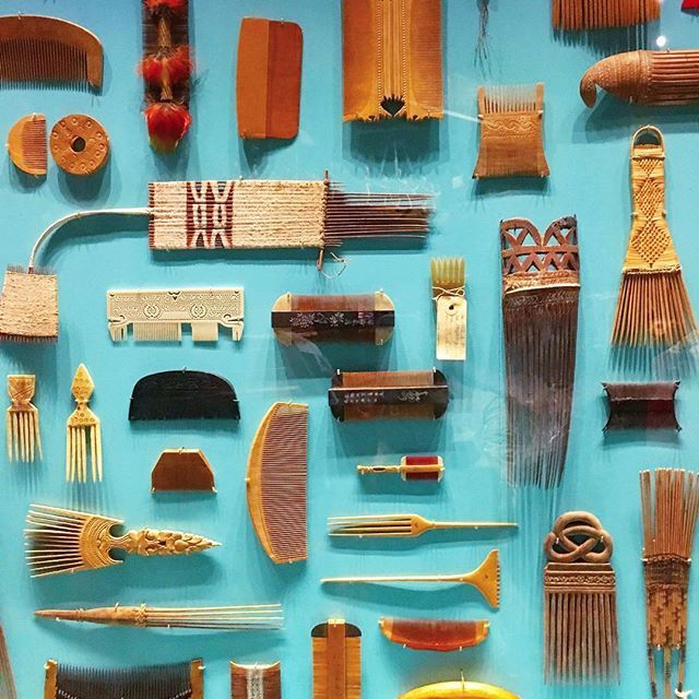 A comb collection from The Ethnography museum's archive. More on the blog…