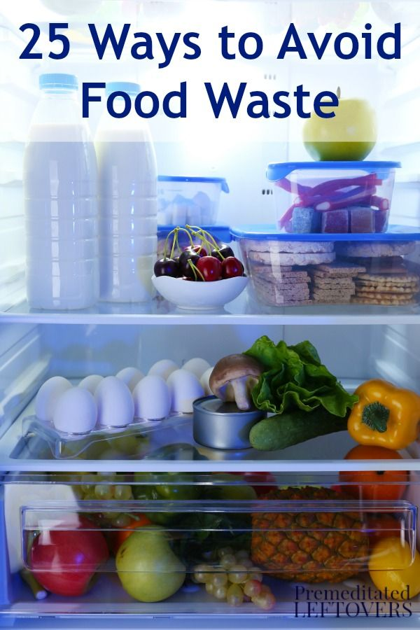 Here are 25 Ways to Avoid Wasting Food to make sure that your household wastes less food and saves money in the process. | via @aleamilham