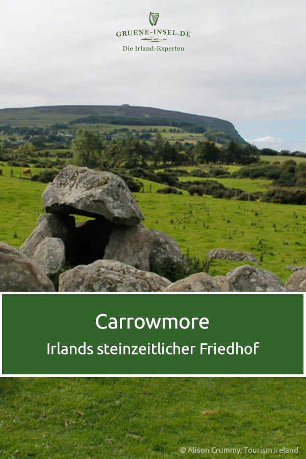 Eine Mystische Aura Umgibt Die Steinkreise In Carrowmore Viele