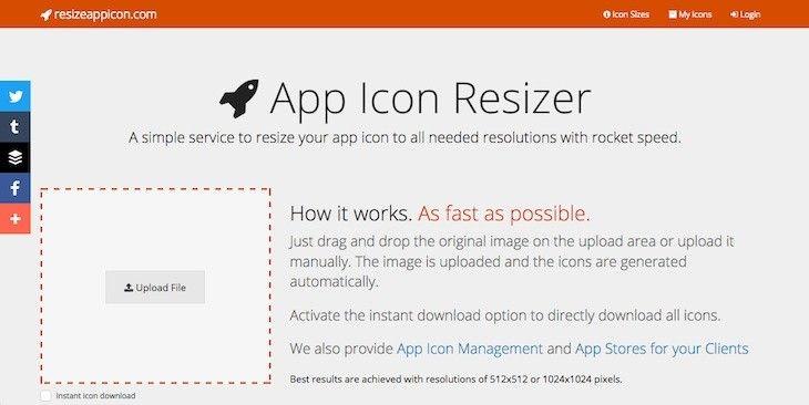 #Programación_y_Diseño #App_Icon_Resizer #diseño App Icon Resizer, para cambiar el tamaño del icono de tu aplicación en segundos