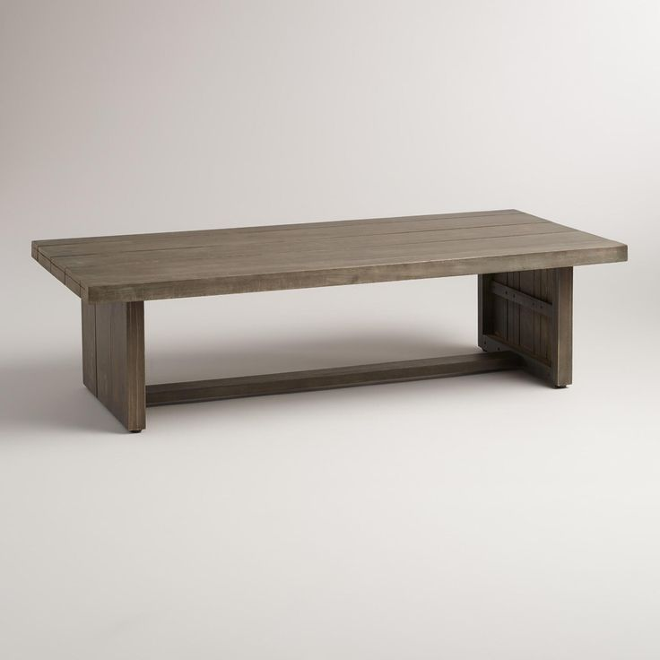 Wood San Paolo Coffee Table  Outdoor. Best 25  Outdoor coffee tables ideas on Pinterest   Pallet coffee