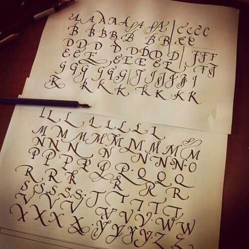 17 Best Images About Calligraphy On Pinterest Typography