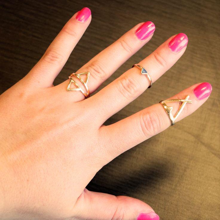 Bohemian ringen / midi ringen zijn helemaal hot deze zomer!