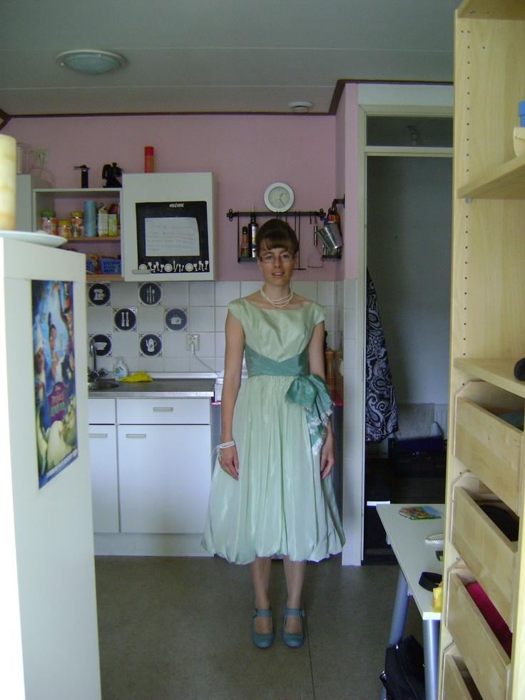 Jaren 50 outfit voor Pauline haar bruiloft