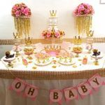 Baby Shower Ideas for Girls themes Princesses Best Of Princess Baby Shower Candy Buffet Centerpiece with Baby Shower