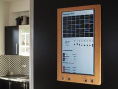 Raspberry Pi: Wall Mounted Calender and Notification Center