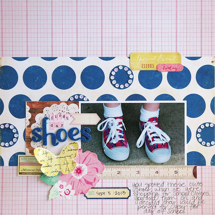 {first day shoes}Scrapbook Ideas, Scrapbook Children, Scrapbook Com, Scrapbook Schools, Cards Scrapbook, Scrapbook Art, Scrapbook Layout