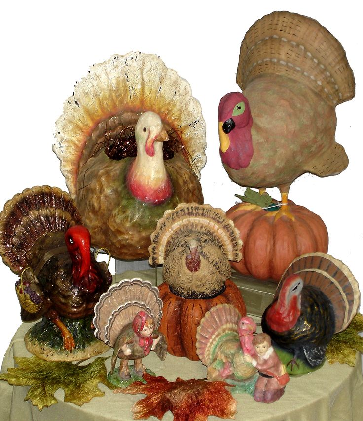 Nothing says THANKSGIVING more than a grouping of turkeys!