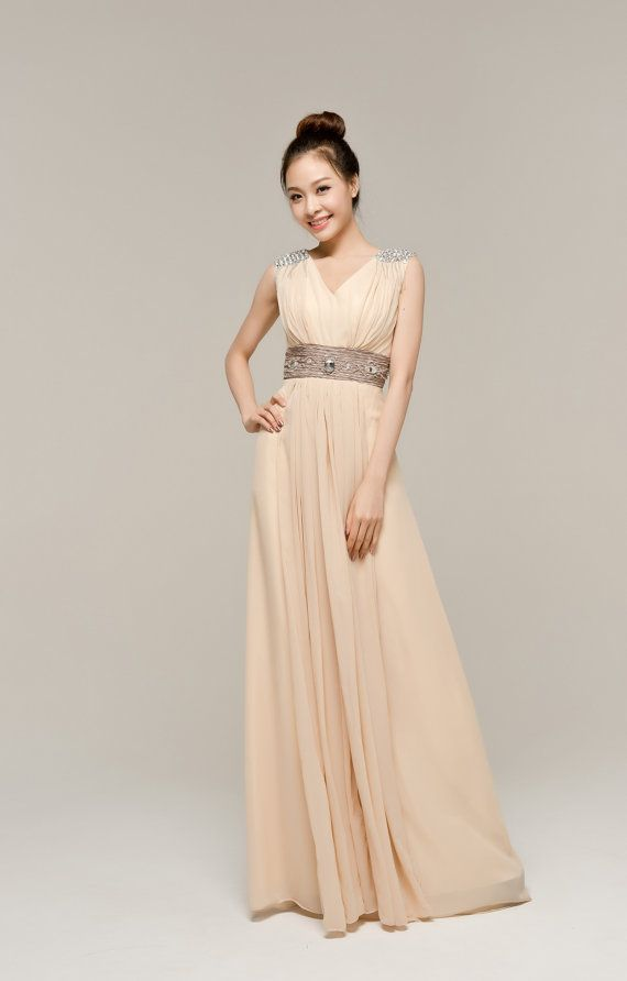 Champagne Maternity Wedding Dress
