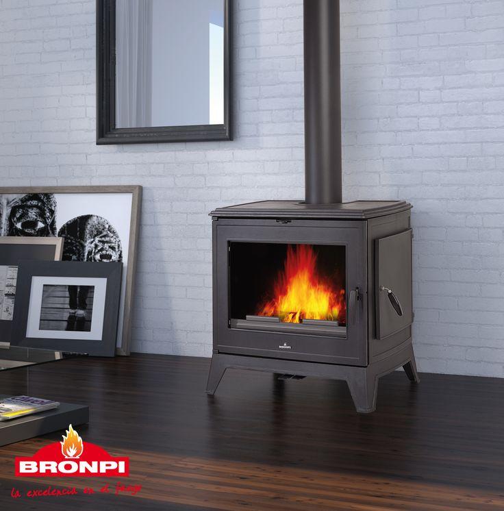 Estufa de leña Bronpi Derby 14 |  Bronpi wood stove Derby 14 | Poêle à bois…