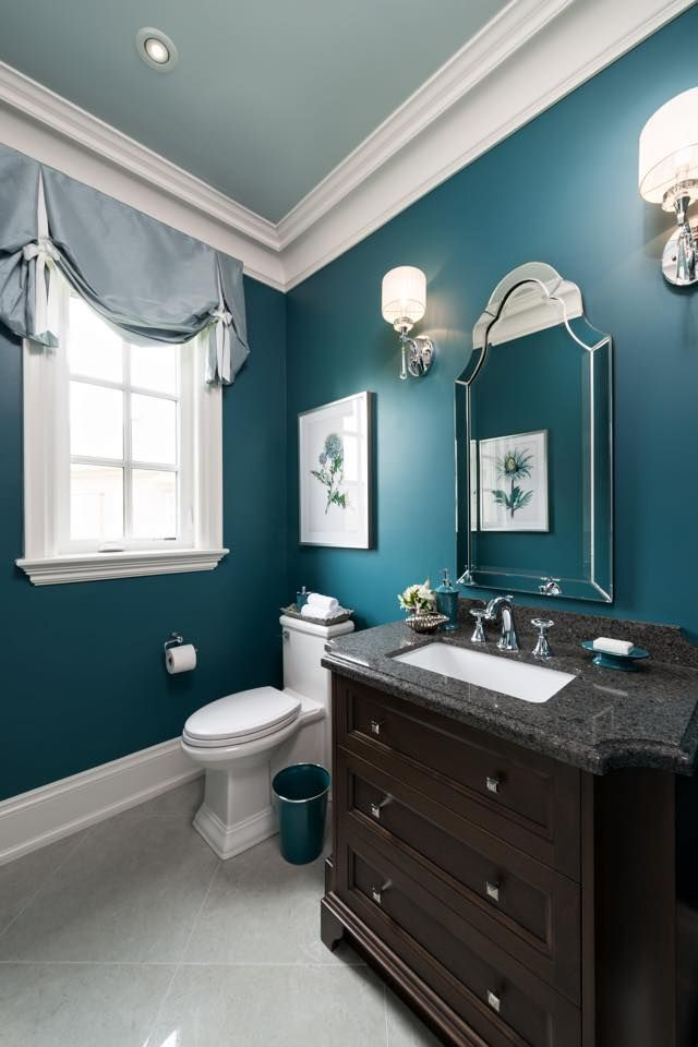 The colour is Stained Glass CSP-685 by Benjamin Moore --- by Jane Lockhart
