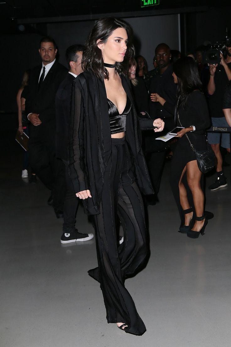 How to Wear Velvet Like Kendall Jenner | Teen Vogue