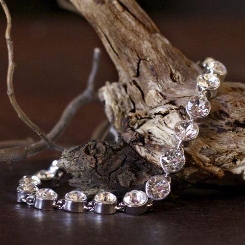 Crystalp Collier Bracelet with Swarovski Crystals