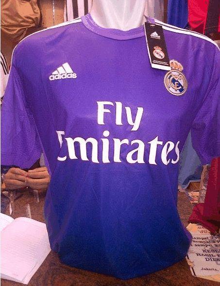 Jual Jersey Kiper Real Madrid Warna Ungu 2014 Grade Original