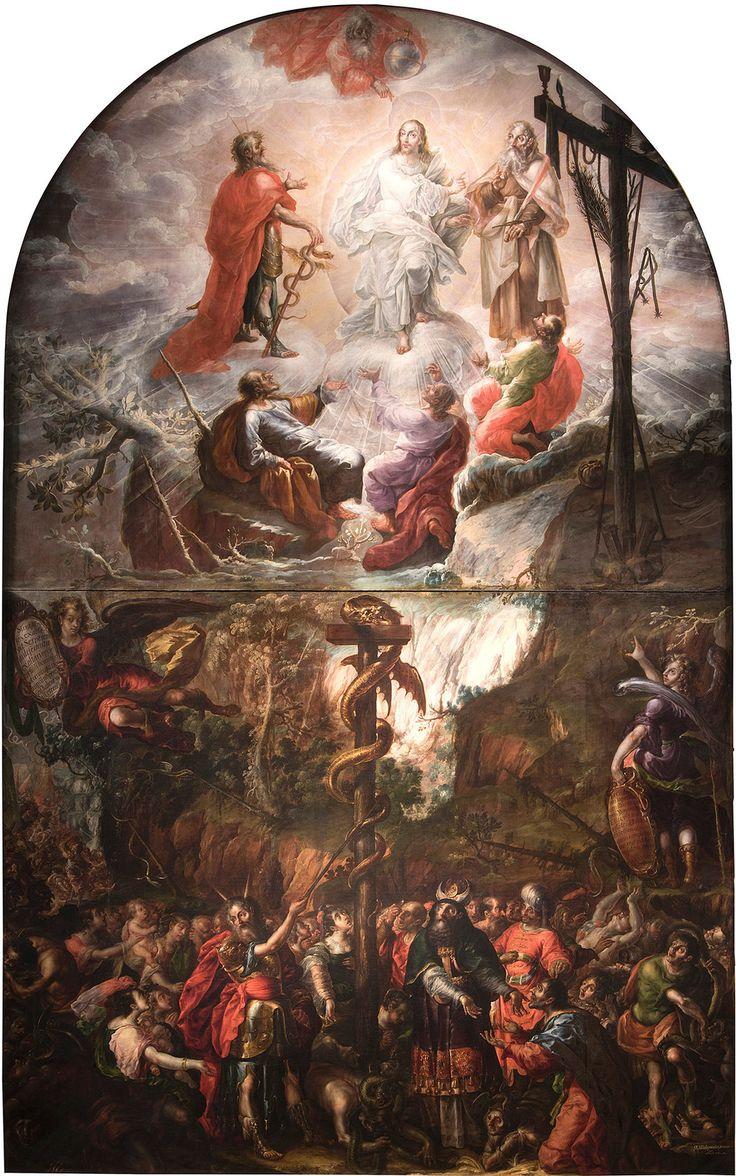 Cristóbal de Villalpando's Baroque altarpiece hasn't left Puebla, Mexico, since 1683. It's now at the Met, and it's overpowering.