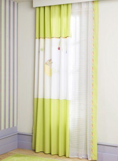 Παιδική κουρτίνα Ηλίου & Τούλι AKS-5168 & 5268