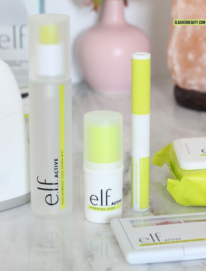 Discover the new e.l.f. ACTIVE collection-- skin care and makeup for the gym and workouts that's lightweight and sweat resistant!   Slashed Beauty