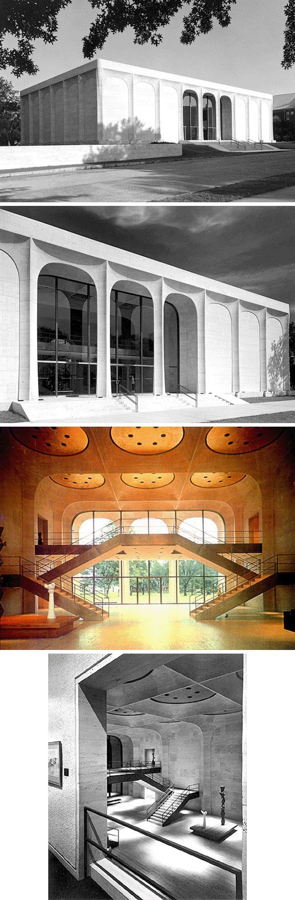 Художественная Галерея Шелдон Мемориал (Sheldon Memorial Art Gallery), Университет Небраски, Линкольн, Небраска, США (1963 г.)