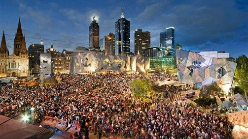 Head to popular Fed Square for a host of outdoor entertainment activities in the Central Business District of Melbourne.