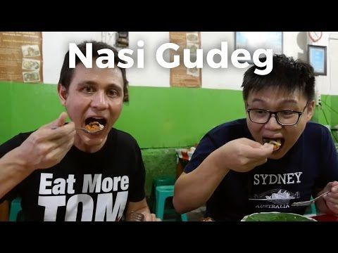 Gudeg (Jackfruit Stew) and Nasi Rawon (Black Beef Soup) in Jakarta