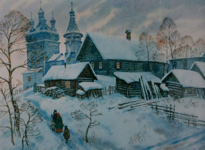 картины художника Артура Костылева -04
