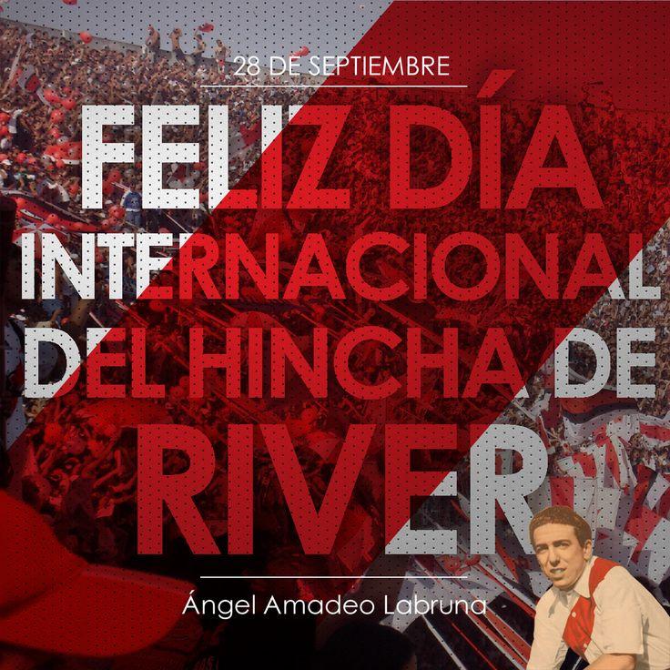 #FelizDíaDelHinchaDeRiver