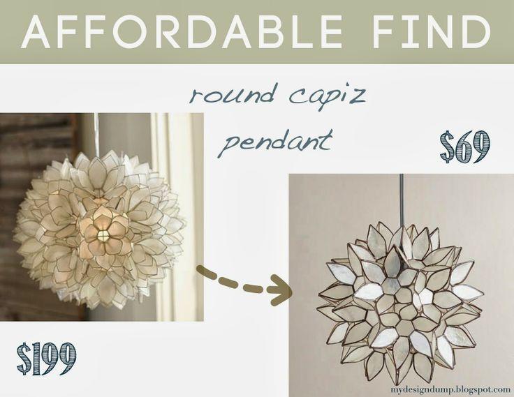 365 best chandeliers pendants images on pinterest chandelier affordable find round capiz pendant design dump world market aloadofball Gallery
