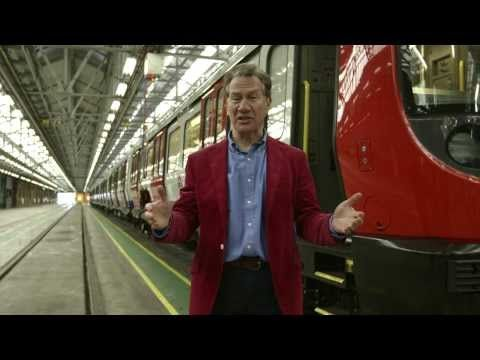 Our new hi-tech trains introduced by Michael Portillo - Tube improvements - YouTube