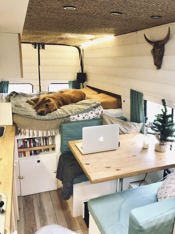 Leben in einem gepflegten Van – unsere Erfahrung – The Travelling Shed – #camp #… – Camping