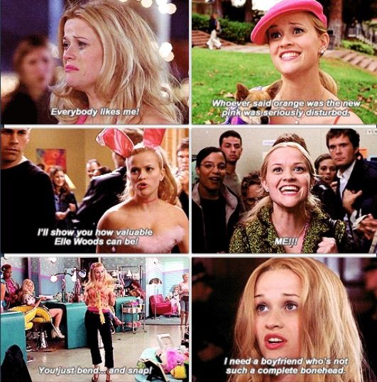 Legally Blonde. One of my favorite movies! :)