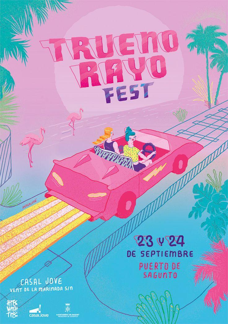 Truenorayo Fest on Behance