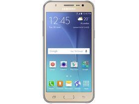Samsung J500 Galaxy J5 Duos (Dual SIM) kártyafüggetlen okostelefon, Gold (Android)