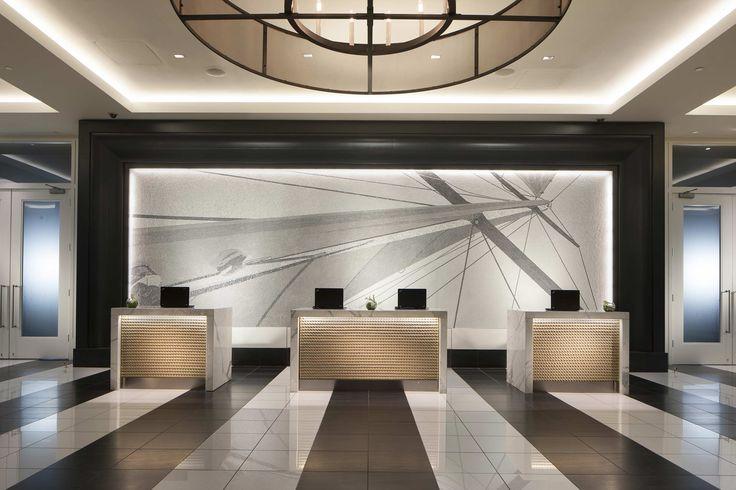 Hotel check in desk design google search redwood ca for Hotel reception design