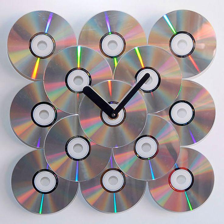 22 manières originales de transformer vos vieux CD en de sublimes objets design