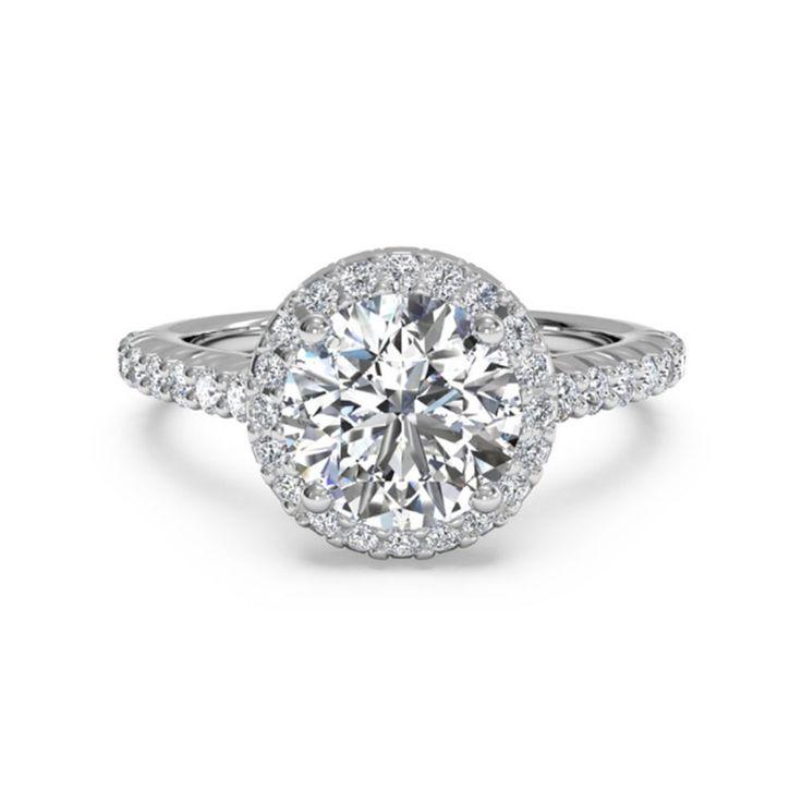 1.00 Ct Moissanite Diamond Wedding Band Set 14K White Gold Finish Rings Size I,J