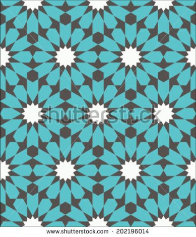 modern moroccan arabesque turquoise - Google Search
