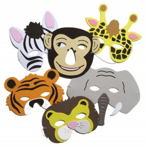 Zoo Foam Mask (1 st, blandade)