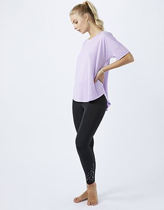 A panel of mesh down the back adds a breathable detail to our t-shirt from the Spirit of Accessorize collection. This oversized style is perfect for throwing...
