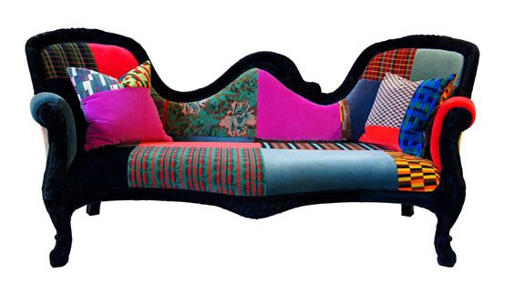 Funky Chair For The Living Area Interior Design Ideas