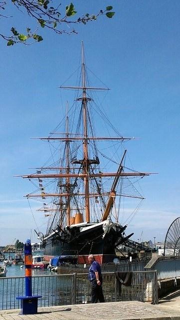 HMS Warrior Portsmouth UK