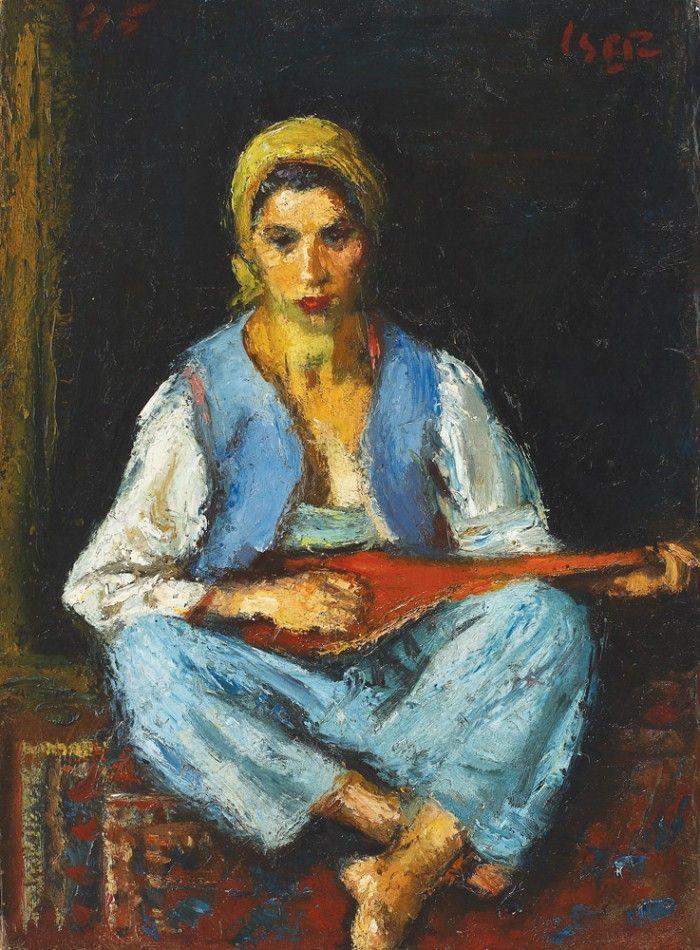 Tătăroaică cu mandolină