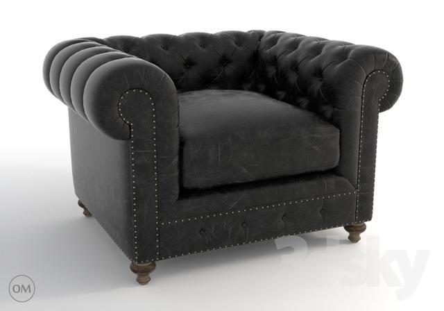 Cigar Club Leather Armchair 7841 3002 St Max Blocks