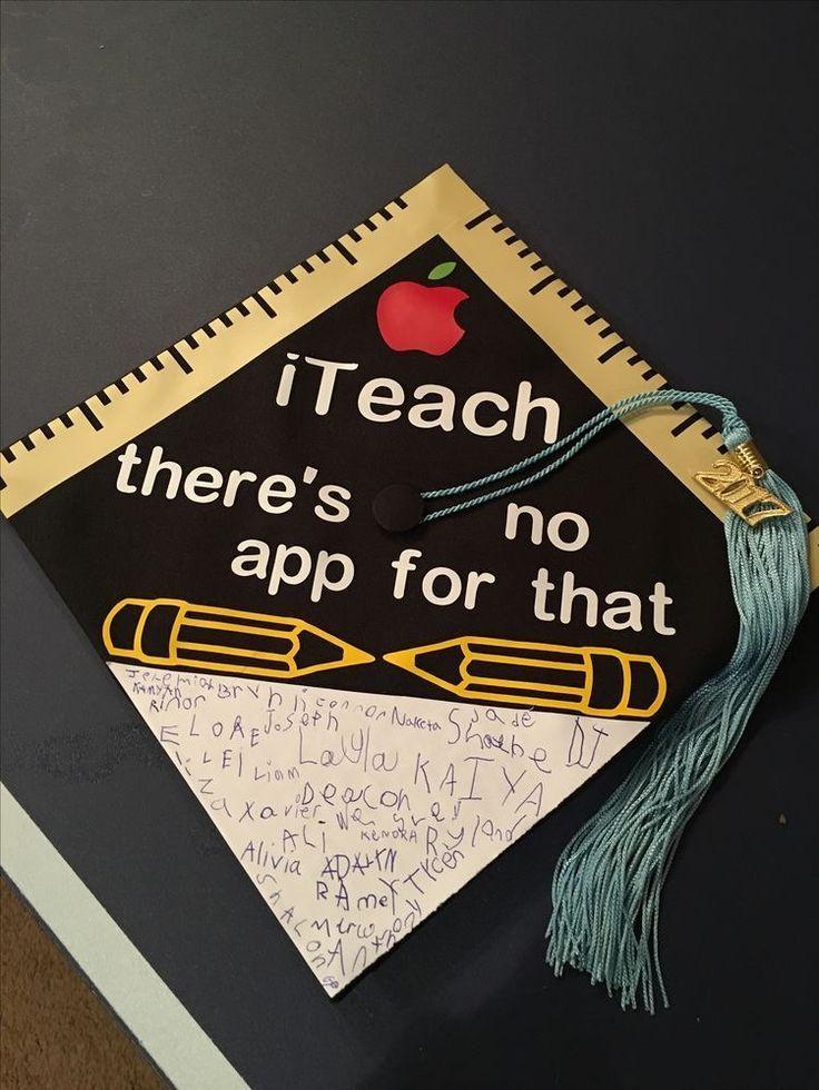 Student signatures on graduation cap - #graduation #signatures #student - #DecorationGraduation