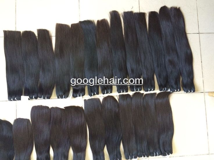 Human Hair Weave Straight Hair Double Drawn 80% With 150 gram/1 bundle - Real Hair Extensions
