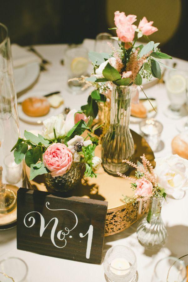 Números en madera para la mesa de la boda | Ideas para numerar las mesas de la Boda | El Blog de una Novia