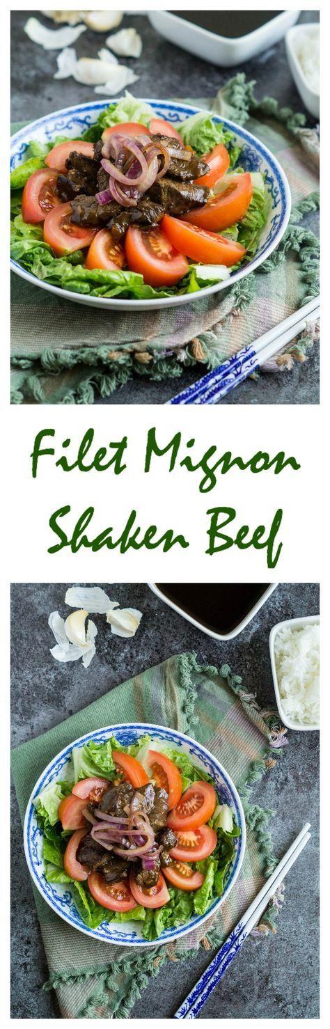 Filet Mignon Shaken Beef