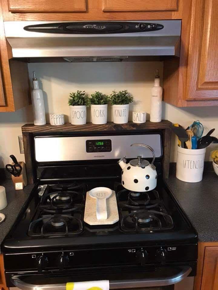 Build A Shelf Over The Oven Controls Homeredecoratingdreams Kitchen Remodel Plans Diy Kitchen Remodel Kitchen Remodel Small