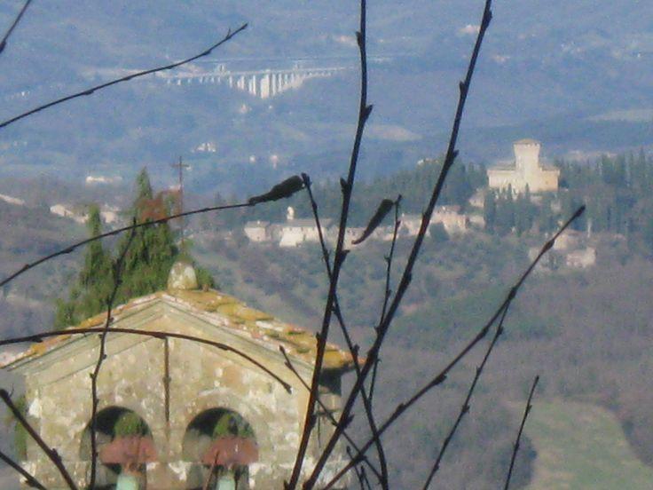 Da Buonsollazzo vista sul Mugello e il Trebbio