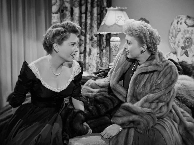 Anne Baxter and Celeste Holm in All About Eve (1950)