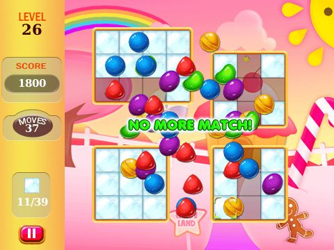Candy Mania Game Screen   Get it at Blackberry App Store